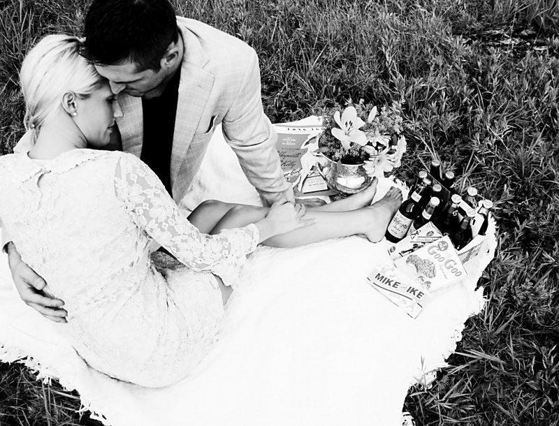 Vintage Engagement Photographs
